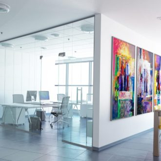 Are you building a business or small office space? Start with the floor
