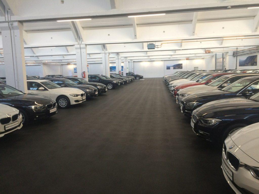 Garage, BMW car dealer, Czech Republic