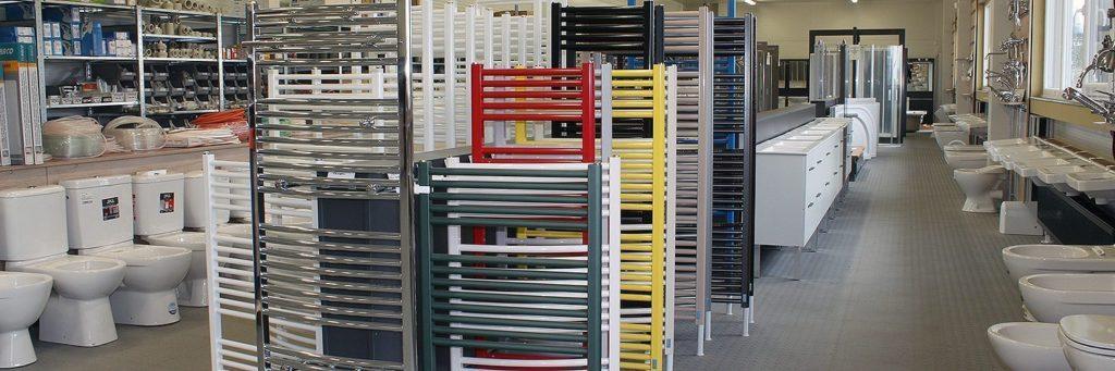 Plumbing and heating supplies store, Czech Republic