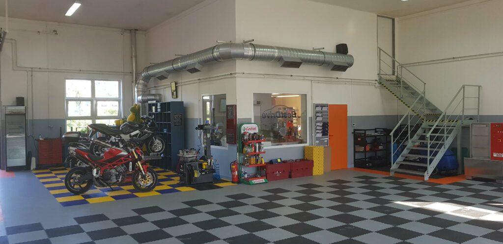 Car repair shop, Czech Republic
