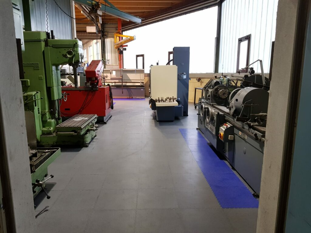 Production hall, Germany
