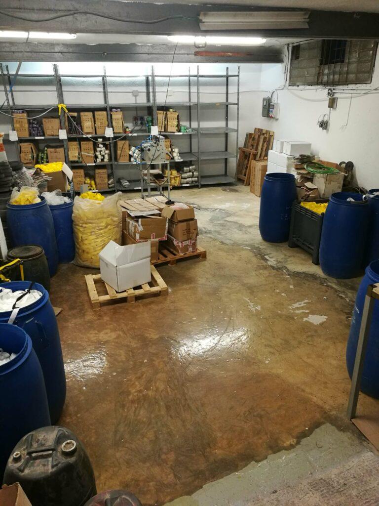 Warehouse, Spain