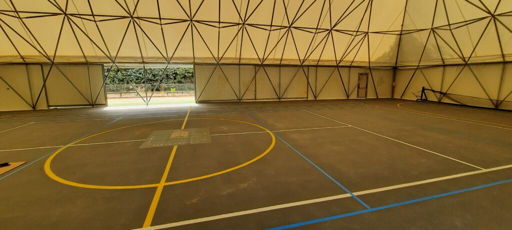 Sports hall, Italy